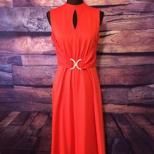 Women's Vintage Leslie Fay Sleeveless Gown